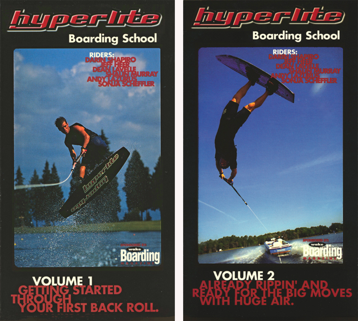 Hyperlite Boarding School Wakeboarding Dean Lavelle Shaun Murray