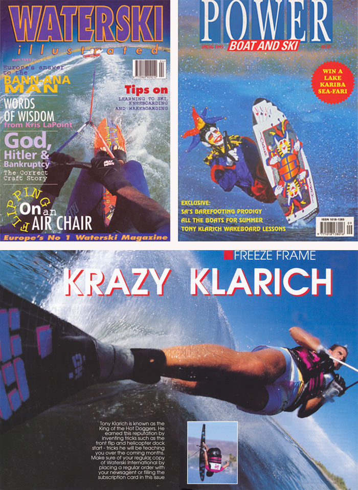 Klarich Water Skiing Covers Kneeboarding Joker Slalom