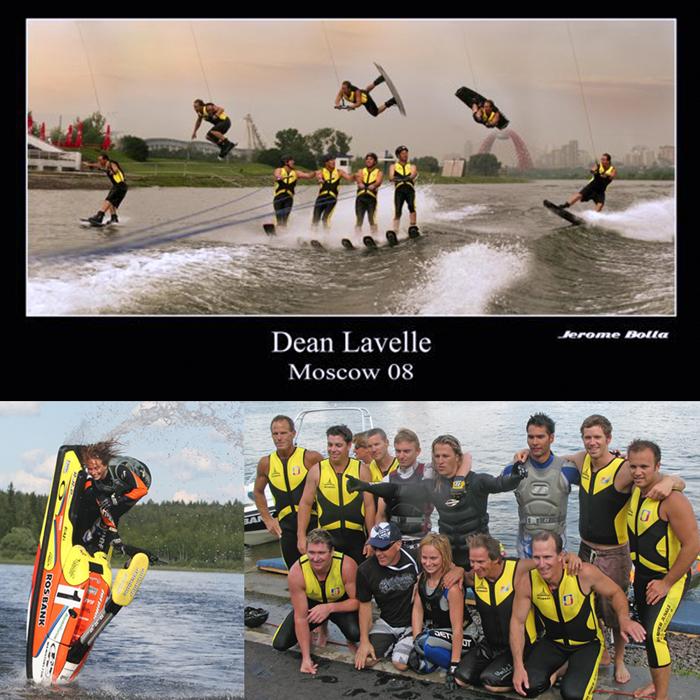 Ski Show Moscow World Champ Nastia Jet Ski Dean Lavelle Wakeboard