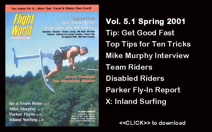 Flight Worlds Hydrofoiling 5.1 Disabled Water Ski Free Tops TIps Boating