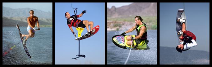 Tony Klarich Slalom Water Ski Kneeboard Sky Ski Wakeboard