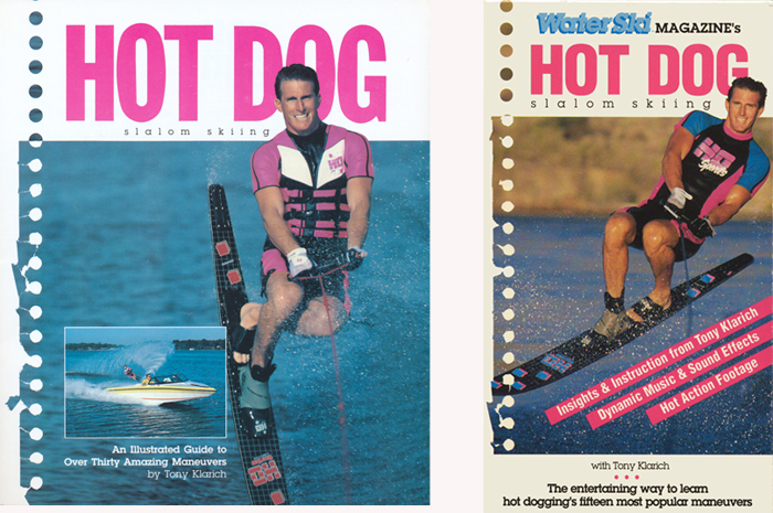 Klarich Hot Dog Slalom Water Skiing Book Video