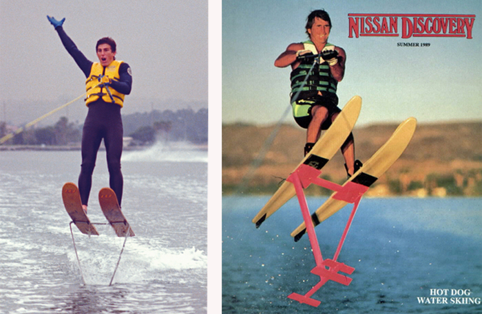 Klarich Murphy Water Skiing Stand Up Hydrofoils