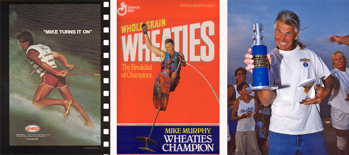 Mike Murphy Wheaties Champion Hydrofoil Barefoot Big Air