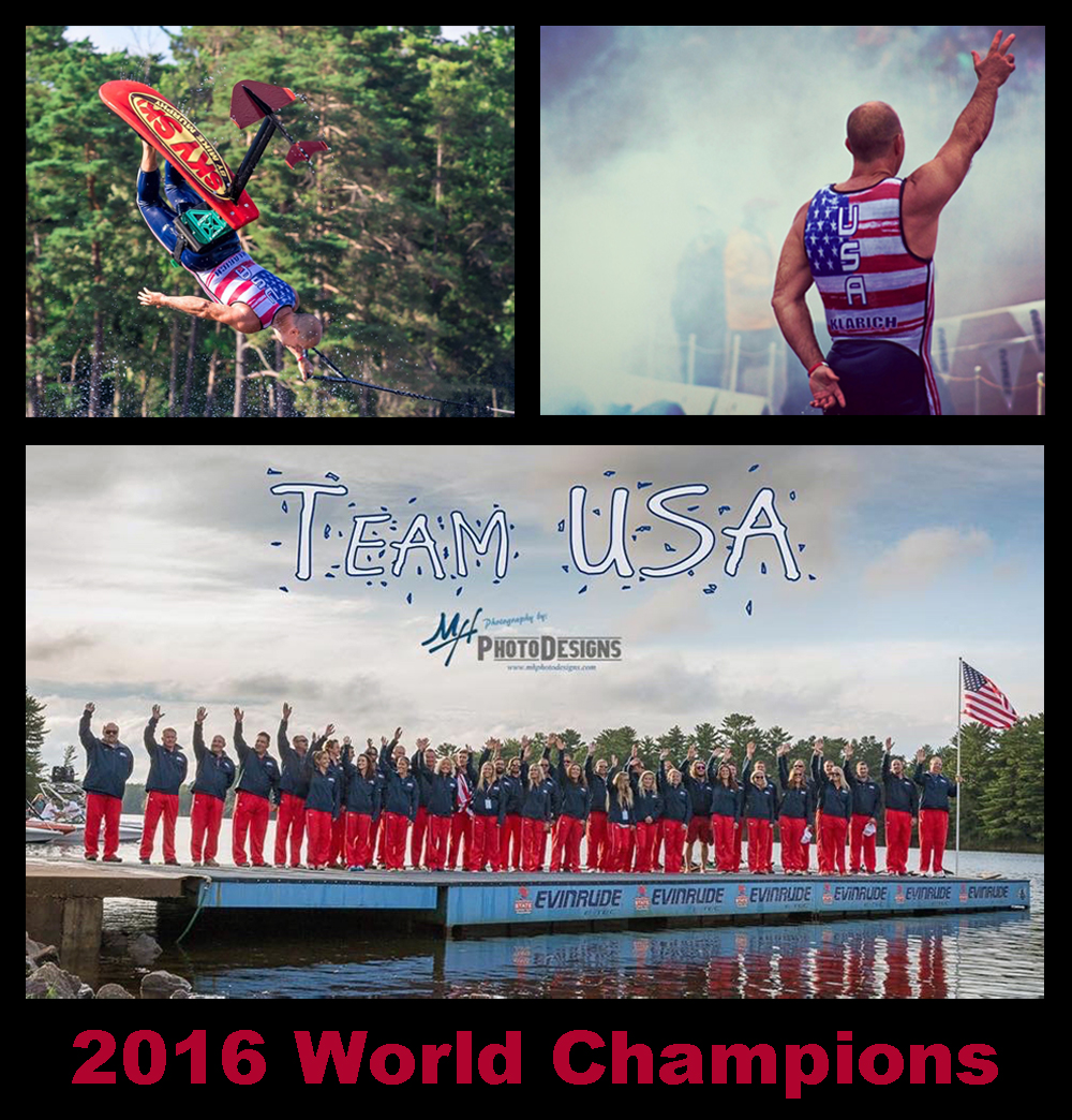 USA Water Ski Show Team World Champions Klarich